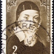 ROMANIA - CIRCA 1957: A stamp printed in Romania from the Cultural Anniversaries issue shows John Amos Comenius (educationist, 300th death anniversary), circa 1957.  — Stock Photo
