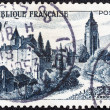 FRANCE - CIRCA 1951: A stamp printed in France shows Chateau Bontemps, Arbois, circa 1951. — Stock Photo