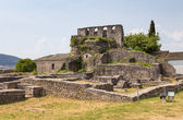 Ruins of Ioannina castle, Epirus, Greece — Stock Photo