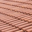 Ceramic roof tiles — Stock Photo