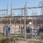 ������, ������: Electrical high voltage substation