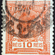 BRAZIL - CIRCA 1918: A stamp printed in Brazil shows Liberty, circa 1918. — Stock Photo