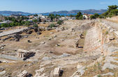 View of Telesterion, ancient Eleusis, Attica, Greece — Stock Photo