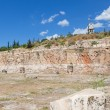 Telesterion, ancient Eleusis, Attica, Greece — Stock Photo