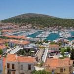 Panoramic view of Cesme, Turkey — Stock Photo #27275023