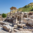 Fountain of Trajan, ancient Ephesus, Turkey — Stock Photo