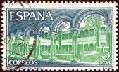 SPAIN - CIRCA 1970: A stamp printed in Spain shows Ripoll Monastery, circa 1970. — Photo