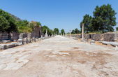 Harbor street in ancient Ephesus, Turkey — Stock Photo