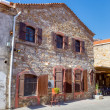 The birthplace of the Greek poet and Nobel laureate Giorgos Seferis in Urla, Turkey — Stockfoto