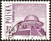 POLAND - CIRCA 1966: A stamp printed in Poland shows Silesian Planetarium, circa 1966. — Photo