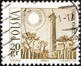 POLAND - CIRCA 1966: A stamp printed in Poland shows Hel Lighthouse, circa 1966. — Stock Photo