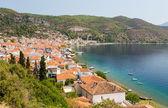 Limni village, Euboea, Greece — Stock Photo