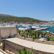 Panoramic view of Cesme from the castle, Turkey — Stock Photo