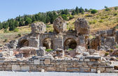 Bath of Varius ruins, Ephesus, Turkey — Stock Photo