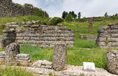 Ruins of Bouleuterion in ancient Dodona, Epirus, Greece — Stock Photo