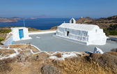 Panagia Tourliani chapel, Milos island, Cyclades, Greece — Stock Photo