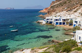 Fourkovouni, Milos island, Cyclades, Greece — Stock Photo