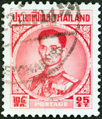 THAILAND - CIRCA 1963: A stamp printed in Thailand shows King Bhumibol Adulyadej, circa 1963. — Stock Photo
