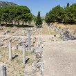 Commercial Agora and Temple of Serapis, Ephesus, Turkey — Stock Photo
