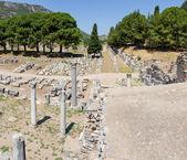 Commercial Agora and Temple of Serapis, Ephesus, Turkey — Stock Photo