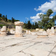 Greater Propylaia, ancient Eleusis, Attica, Greece — Stock Photo