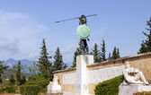 Leonidas monument, Thermopylae, Greece — Stock Photo