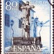 SPAIN - CIRCA 1964: A stamp printed in Spain shows Christ of the Lanterns, Cordoba, circa 1964.  — Stock Photo
