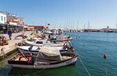 Urla harbor, Izmir Province, Turkey — Stock Photo