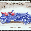 Постер, плакат: MONACO CIRCA 1961: A stamp printed in Monaco from the Veteran Cars issue shows Buick 1910 circa 1961