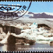 ICELAND - CIRCA 2007: A stamp printed in Iceland from the Glaciers  issue shows Jokulsarlon, circa 2007.  — Stock Photo