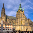 Stock Photo: St. Vitus Cathedral, Prague, Czech Republic