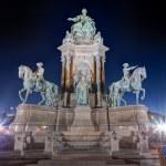 Maria Theresa Monument, Vienna, Austria — Stock Photo