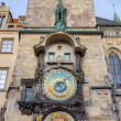 Prague astronomical clock, Czech Republic — Stock Photo