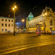 Stock Photo: Republic Square (Namesti Republiky), Prague, Czech Republic