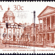 "Stock Photo: SOUTH AFRIC- CIRC1982: stamp printed in South Africfrom ""South AfricArchitecture"" issue shows Old Legislative Assembly Building, Pietermaritzburg, circ1982."