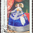 "GUINEA-BISSAU - CIRCA 1984: A stamp printed in Guinea-Bissau from the ""Espana 84 International Stamp Exhibition, Madrid "" issue shows Queen Maria of Austria (Velazquez), circa 1984. — Stock Photo"