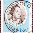 "ITALY - CIRCA 1973: A stamp printed in Italy from the ""Italian Painters (1st series) "" issue shows Giovanni Battista Tiepolo, circa 1973. — Stock Photo"