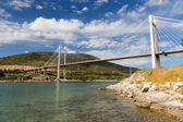 Bridge of Chalkis, Euboea, Greece — Stock Photo