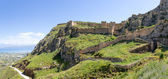Acrocorinth fortress, Peloponnese, Greece — Stock Photo