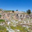 Постер, плакат: Main Agora of ancient Corinth Peloponnese Greece
