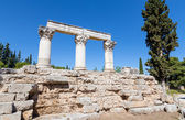 Temple E, Ancient Corinth, Greece — Foto Stock