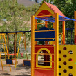 Playground in the yard — Stockfoto #12287049