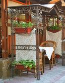 Cafe in Venice — Stock Photo