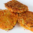 Stock Photo: Vegetable patties