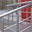 Steel structure staircase — Stock Photo