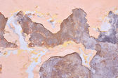 Fragment of the wall with old paint — Foto Stock