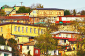 Old town in the crimea gursuf — Stock Photo