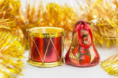 Papírové vánoční ozdoby — Stock fotografie