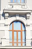 Antika penceresi — Stok fotoğraf