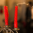 Extinguished candles — Stock Photo